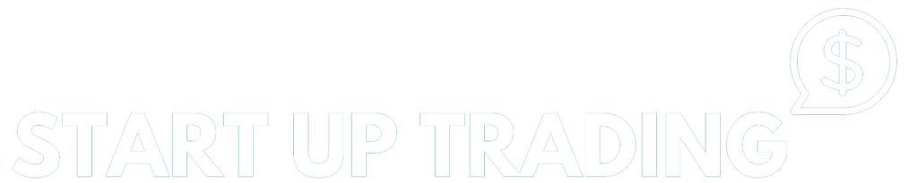 Start up trading header logo transparent